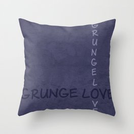 Gunge love 2 Throw Pillow