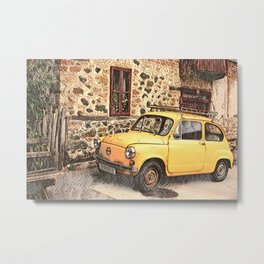 LITTLE ITALY ... Metal Print