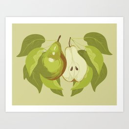 Bartlett Pear Art Print