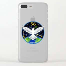 Expedition 56 Original Patch Clear iPhone Case