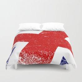 Union Jack Close Up Duvet Cover