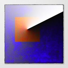 Blue Angle Canvas Print
