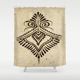 Henna Inspired 1 Shower Curtain