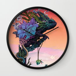 Phantasmagoria Wall Clock