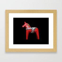 Dalahäst Framed Art Print