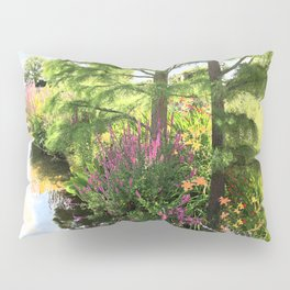 Hyde Hall in the blush of a summer Pillow Sham