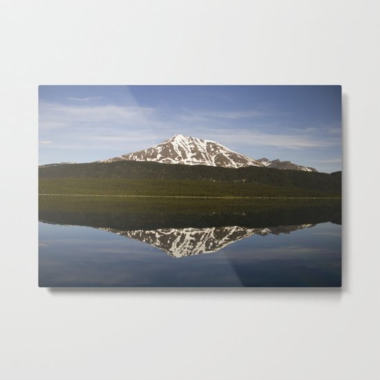 Reflections: Floating Arrowhead Metal Print