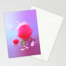 Sakura Dino Stationery Cards