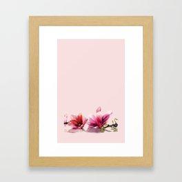 magnolie ...  Framed Art Print