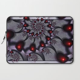 Goth Hearts and Spikes Laptop Sleeve