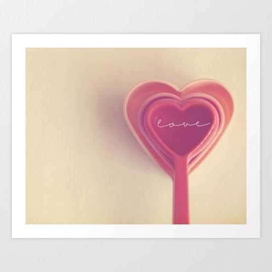 how do you measure love... Art Print