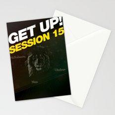 Concert : Get Up Session Stationery Cards