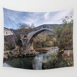 Cangas de Onís, Principality of Asturias, Spain Wall Tapestry