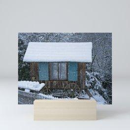 Stable On Wheels Mini Art Print