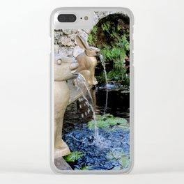 Francois-Xavier Lalanne Bunny Clear iPhone Case