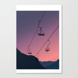 A high trip Canvas Print