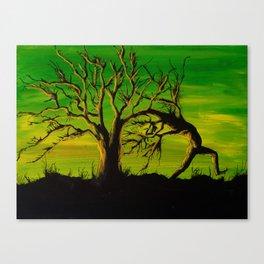 The BIG Escape - Psychedelic Tree Art Canvas Print