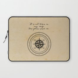 Moby Dick - Herman Melville - True Places Laptop Sleeve