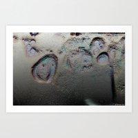 Electriscape Art Print