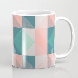 Seafoam Plaid Coffee Mug