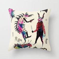 Aquassassins Throw Pillow