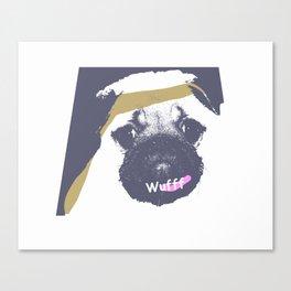 WUFF Canvas Print