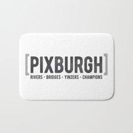 Defining Pixburgh Bath Mat