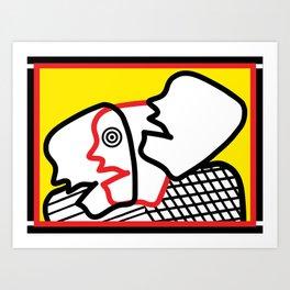 Logos, Ethos, Pathos Art Print