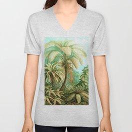 Vintage Tropical #society6 #buyart #painting Unisex V-Neck