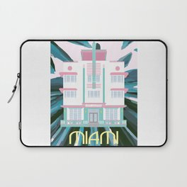 Miami Landmarks - McAlpin Laptop Sleeve