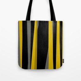 yellow gray and black Tote Bag
