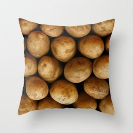 Potato Potato Throw Pillow