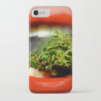 cannabis iPhone & iPod Cases featuring The Cannabis Queen by Vivisuals Photography