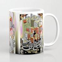 metropolis Mugs featuring Metropolis  by KRNago