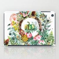 new year iPad Cases featuring NEW YEAR by Burcu Korkmazyurek