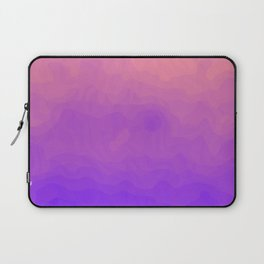 Pink and Purple Ombre - Swirly Laptop Sleeve