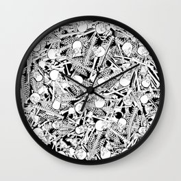 The Boneyard Wall Clock