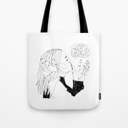 it's not who, it's why Tote Bag