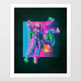 FREEFALL (everyday 01.15.19) Art Print