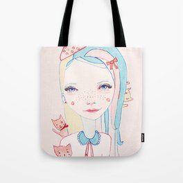 Merry Catmas Tote Bag