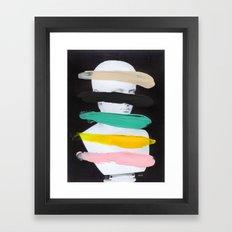 Untitled (Finger Paint 1) Framed Art Print