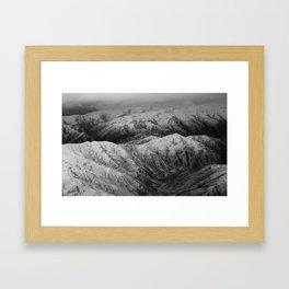 Cardrona Valley, New Zealand Framed Art Print