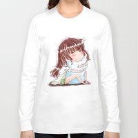 hug Long Sleeve T-shirts featuring Hug by Kisava NiCh