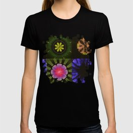 Brinish Symmetry Flowers  ID:16165-053020-45980 T-shirt