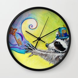 Magic in Action Wall Clock