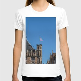 Bruges tower and flag T-shirt