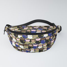 peg people police Fanny Pack