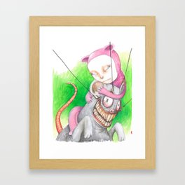Not Mr. Rat Framed Art Print