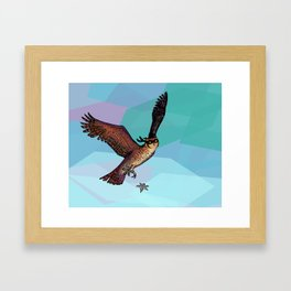 Owls are pretty much ninjas. | COLOR Framed Art Print