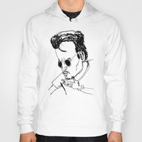 johnny depp Hoodies featuring johnny depp by AdrienneD